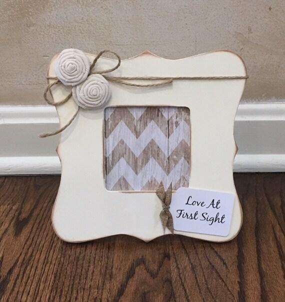Pregnancy Reveal Frame, Love at First Sight Ultrasound Frame ...