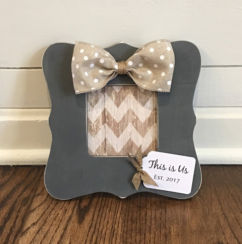 This is Us Frame Gift Farmhouse Decor Frame Fixer Upper image 0