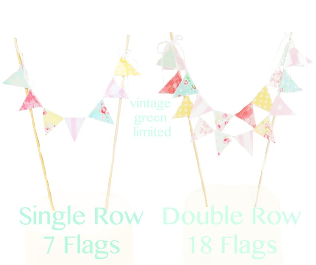 Animal Circus Cake Topper Birthday Party Banner Mini Bunting Red