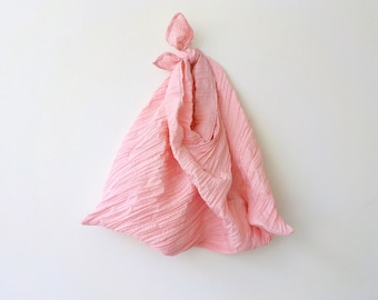 Crushed Pink Reusable Shopping Origami Bag Foldable Market Bag Eco-friendly Shopper Fold-Up Tote Bag by OnePerfectDay