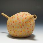 The BEST Handmade Stoneware Salt Pig / Salt Cellar / Salt Shaker 16-064