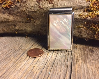 Money Clip: Mother of Pearl