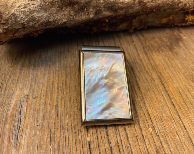 Featured listing image: Money Clip: AAAAA Gallery grade Mother of Pearl