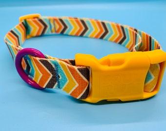 Dog Collar- Chevron
