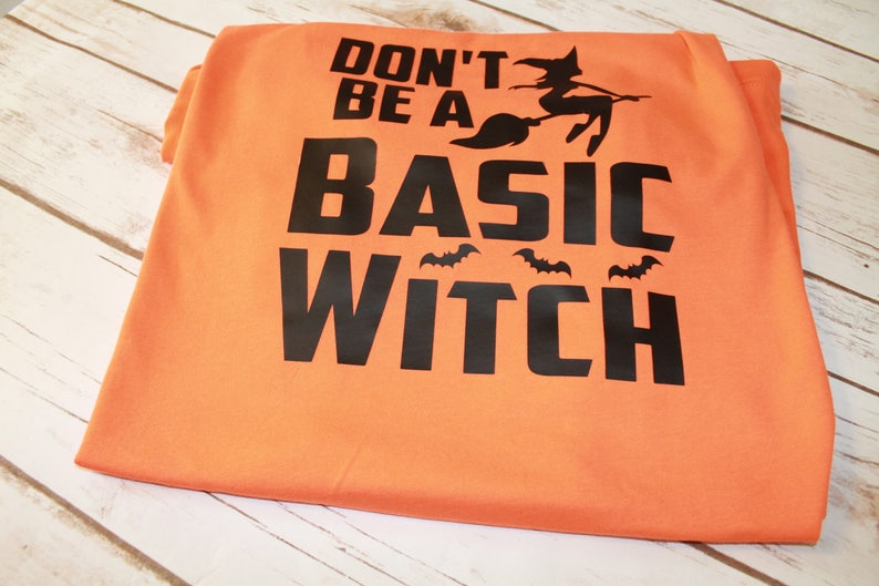 5408d3ad8e4 Don't be a Basic Witch Shirt Basic Witch Shirt Halloween | Etsy