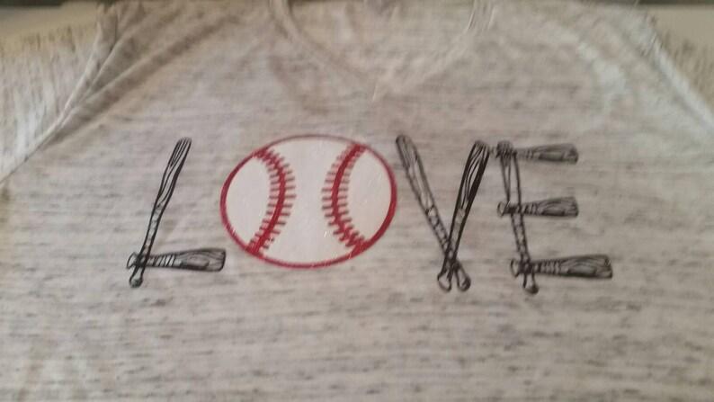 980050520 Baseball Love Shirt Custom Baseball Funny Baseball Tee   Etsy
