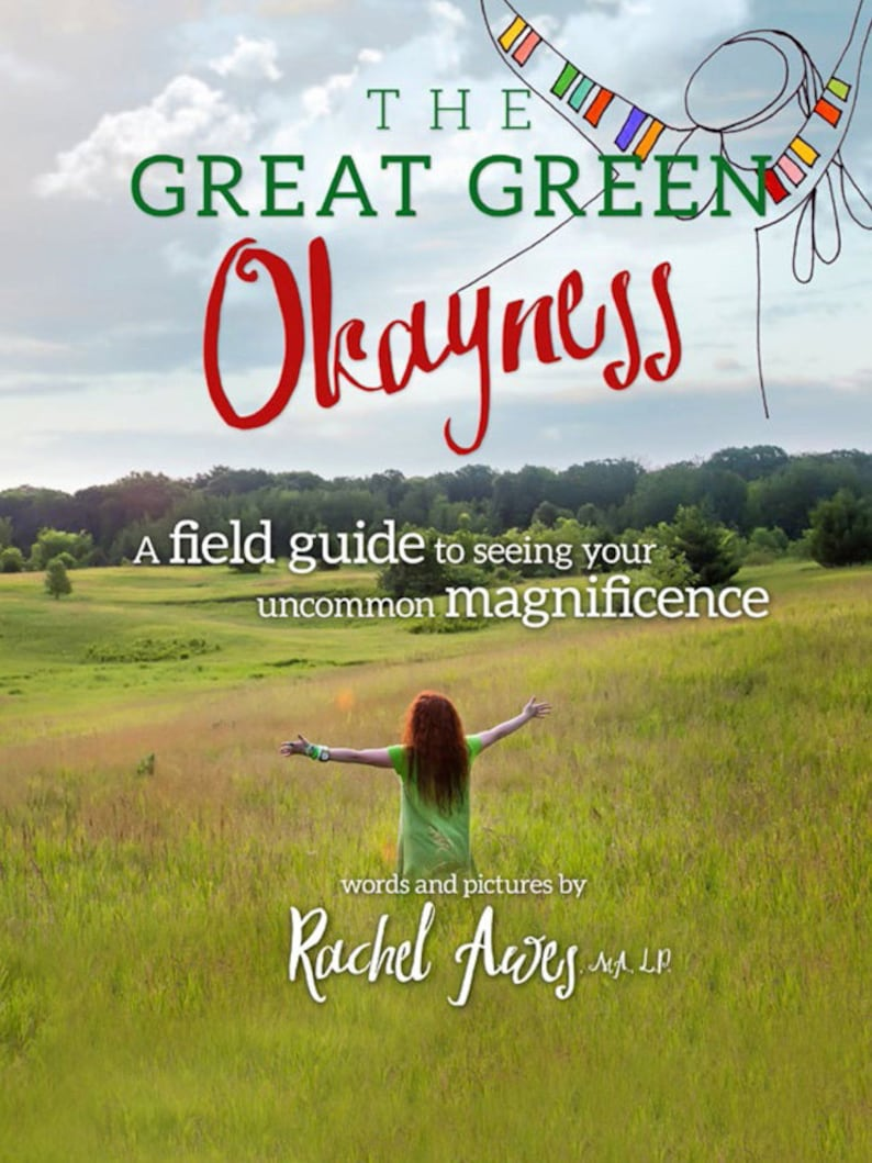 The book The Great Green Okayness. A Field Guide to image 0