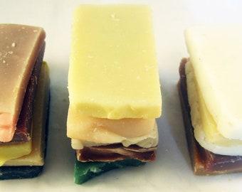 Soap Sampler - Soapery Pack - 5 pack of Guest Sized Samples Handmade Soap