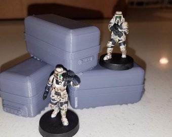 Star Wars Legion Terrain 3x Large Crates