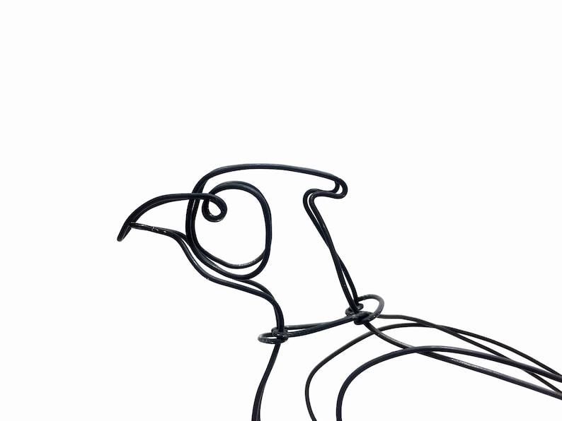 Wire Wrap Bird