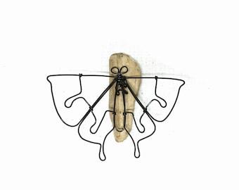 3D Butterfly Sculpture, Wire Art, Butterfly Wall or Tabletop Sculpture