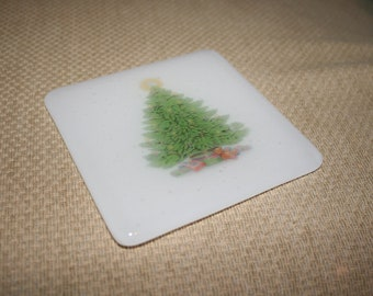 Colourful Christmas Pictures Coasters