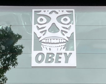 OBEY They Live Vinyl Decal Sticker-Multi Colors