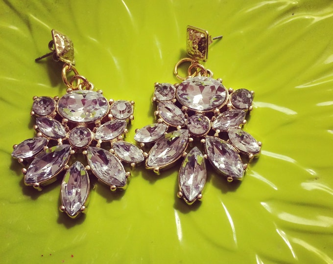 Bejeweled Chandlier Earrings