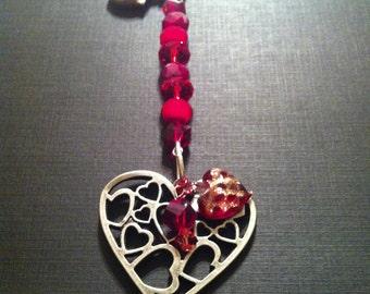Multi-Heart Key Chain