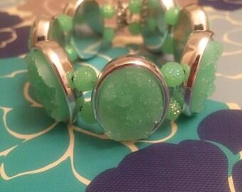 Mint Agate Bracelet