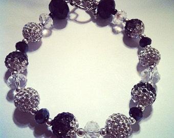 Fade to Black Bracelet