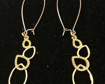 Stacked Bubble Chandelier Earrings