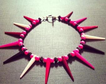 Pinky Spiked Bracelet