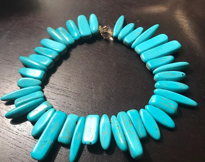 Turquoise Stick Bracelet