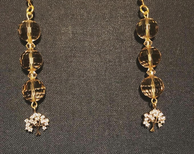 Crystal Tree's Chandelier Earrings