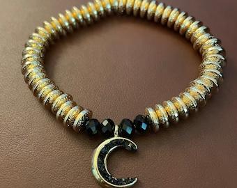 Dark Moon Bracelet