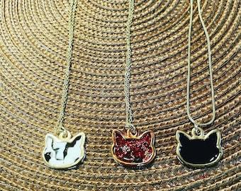 Cat Charm Necklaces