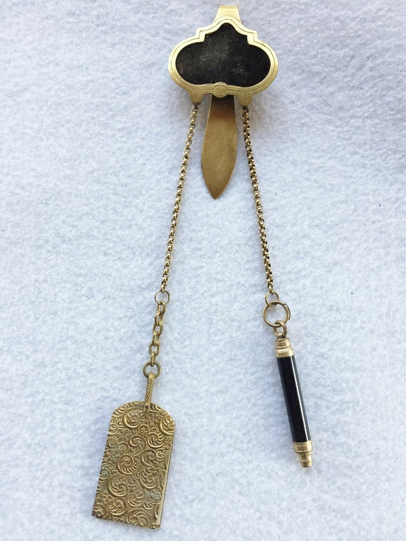 Victorian Chatelaine - Original with Two Appendage