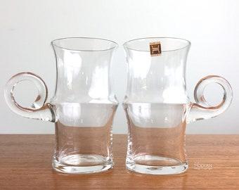 Crystal Folk Pitcher Hadeland Glassverk Norway