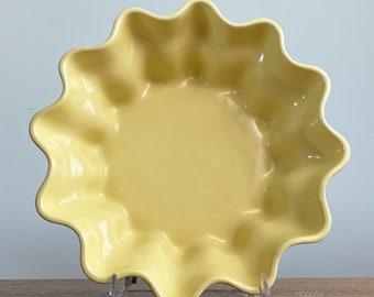 Catalina Pottery Saguaro Art Ware Line Scalloped Bowl Gladding McBean California