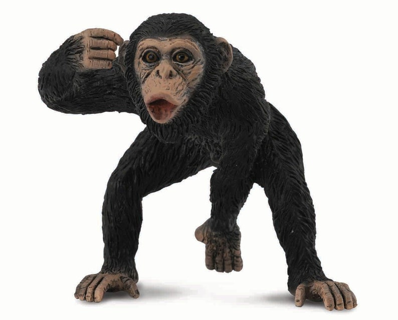 Breyer Horses CollectA Wildlife Series Chimpanzee Male #88492