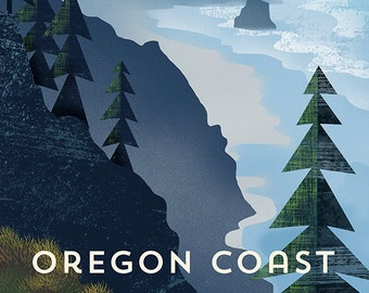 Oregon Coast Print