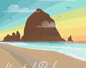 Haystack Rock Cannon Beach Print