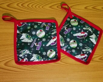 Star Wars Ornaments Set of 2 Potholders