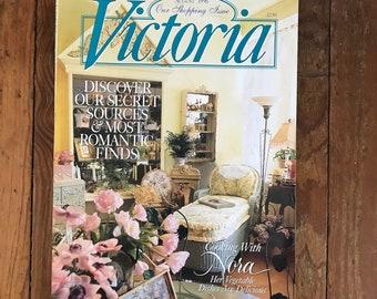 Vintage Victoria Magazine 1990s Decorating Flea Market Finds Cooking Home Improvement Back Issues 1995 Jan 1996 Aug 1997 Dec Lot of 3