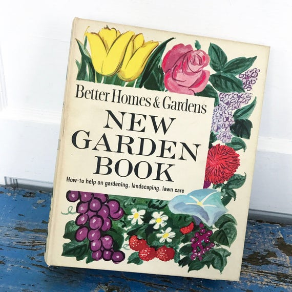 Vintage Better Homes And Gardens New Garden Book 1961 Binder Etsy
