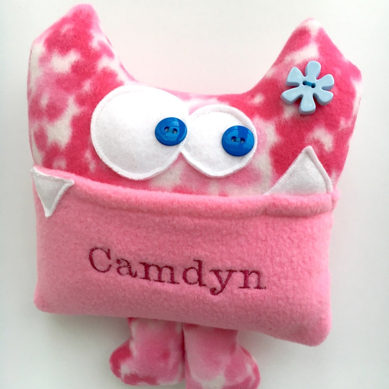 Personalized plush gift for kids Personalized Tooth Fairy image 0