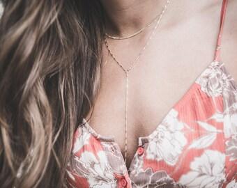 Sparkle Y-Necklace