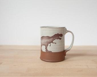 T-Rex Mug - white