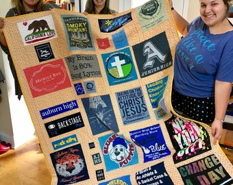 T-shirt or Memory Quilt