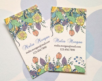Personalized Business Cards Calling Cards - Set of 50