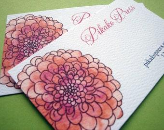 Golden business card template makeup business card design