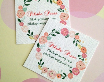 Business Cards, Custom Business Cards, Set of 48