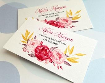 Business Cards, Custom Business Cards, Set of 50