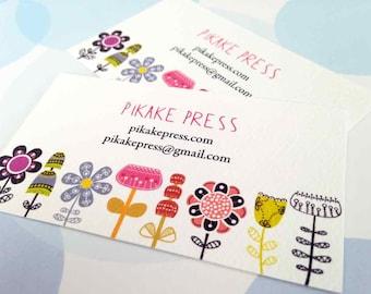 Business Cards, Custom Business Cards - Set of 50