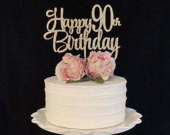 Happy 90th Birthday Topper