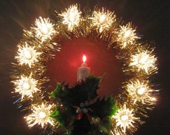 lighted vintage christmas tree topper - Led Christmas Tree Topper