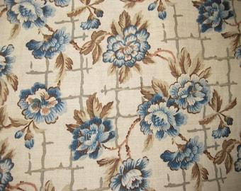 Antique Floral Fabric