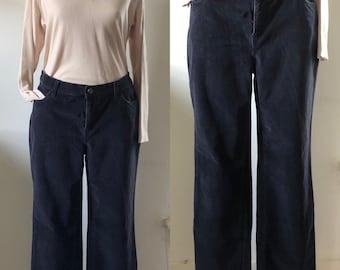 vtg pants, vintage corduroy pants, vintage cords, black pants, 90s pants, momcore, vintage black pants, black cords, 90s style, fall fashion