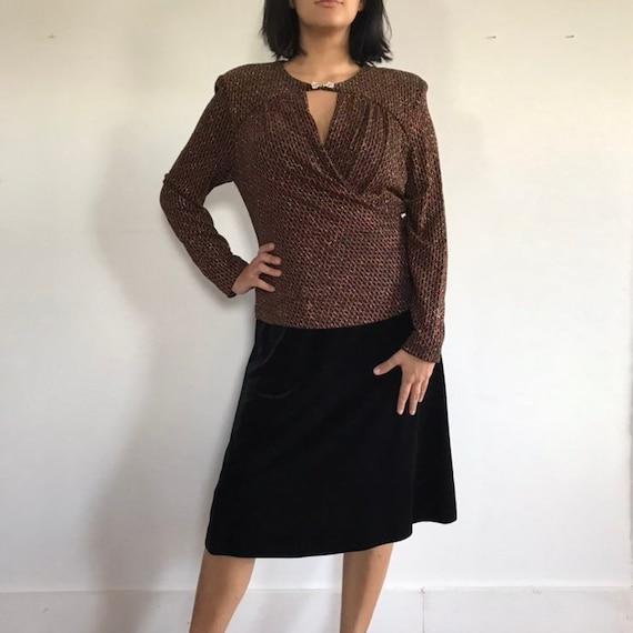 vintage dress, vtg party dress, vintage cocktail … - image 1